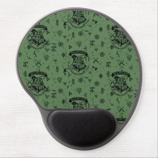 Modelo verde de HOGWARTS™ Alfombrillas De Raton Con Gel