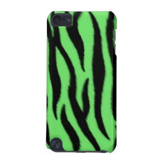 Modelo verde de la cebra carcasa para iPod touch 5G