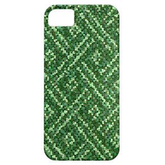 Modelo verde de la chispa iPhone 5 fundas
