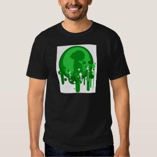 Modelo verde de la esperanza polera