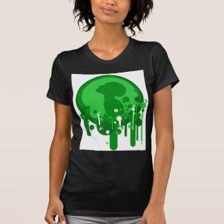Modelo verde de la esperanza poleras