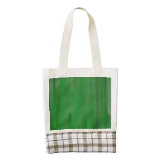 modelo verde de la pintura de aceite bolsa tote zazzle HEART