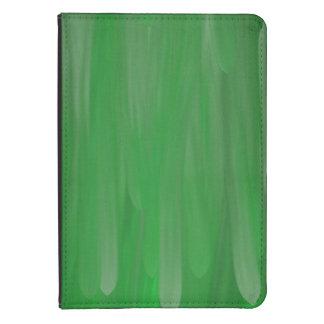 Modelo verde de la pintura de aceite funda para kindle
