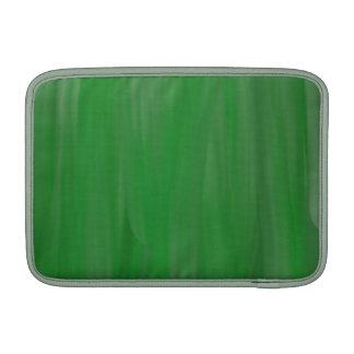 Modelo verde de la pintura de aceite funda macbook air