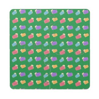 Modelo verde de la torta