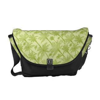 Modelo verde de las palmeras bolsa de mensajería