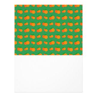 "Modelo verde de los naranjas folleto 8.5"" x 11"""