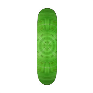 Modelo verde de moda del círculo patinetas personalizadas