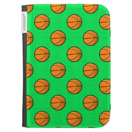 Modelo verde de neón del baloncesto
