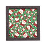 Modelo verde de santa cajas de joyas de calidad