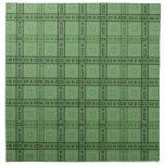 Modelo verde del control servilleta