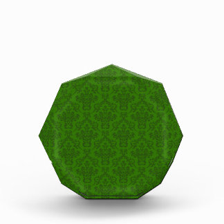 Modelo verde del damasco