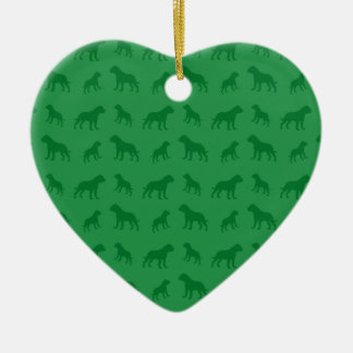 Modelo verde del dogo adornos