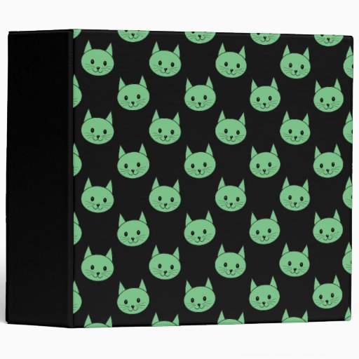 "Modelo verde del gato carpeta 2"""