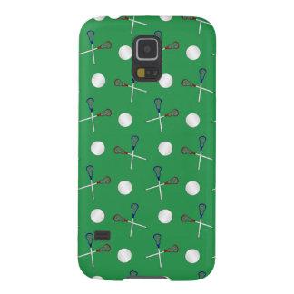 Modelo verde del lacrosse carcasa para galaxy s5