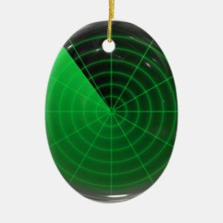 modelo verde del radar ornamentos de reyes
