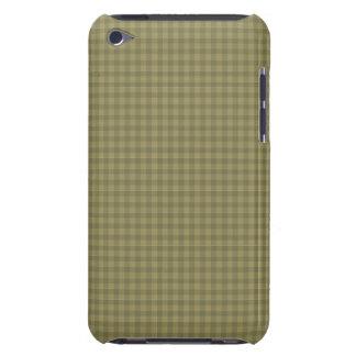 Modelo verde del tablero de damas iPod touch Case-Mate protector