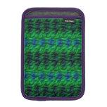 Modelo verde extraño fundas para iPad mini