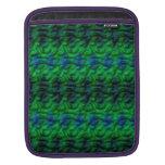 Modelo verde extraño manga de iPad
