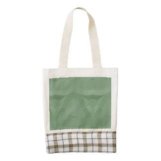 Modelo verde fresco de moda moderno bolsa tote zazzle HEART