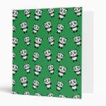 Modelo verde lindo de la panda