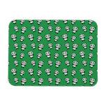 Modelo verde lindo de la panda imán flexible