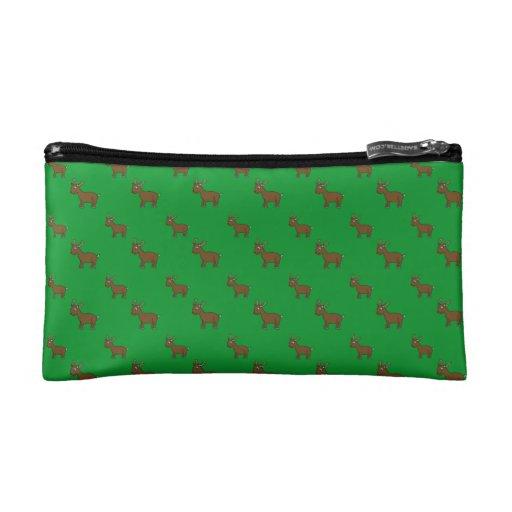Modelo verde lindo del reno