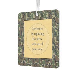 Modelo verde militar del camuflaje