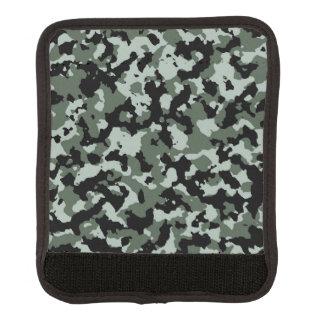 Modelo verde militar del camuflaje funda para asa de maleta