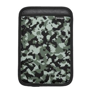 Modelo verde militar del camuflaje fundas para iPad mini