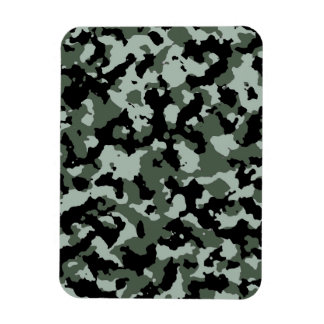 Modelo verde militar del camuflaje iman de vinilo