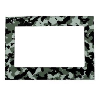 Modelo verde militar del camuflaje marcos magnéticos de fotos