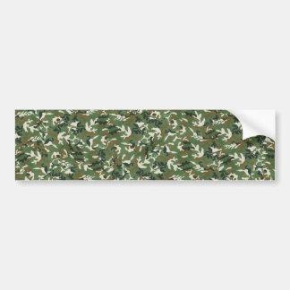Modelo verde militar fresco del camuflaje pegatina para auto