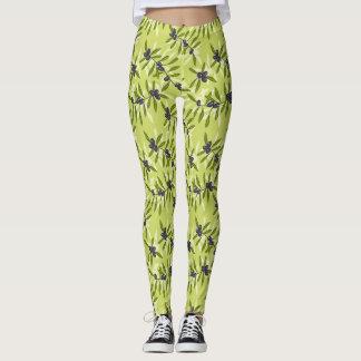 Modelo verde oliva leggings