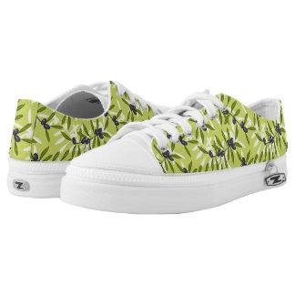 Modelo verde oliva zapatillas