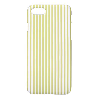 Modelo verde y blanco del helecho suave de la funda para iPhone 7