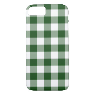 Modelo verde y blanco hermoso de la guinga funda iPhone 7