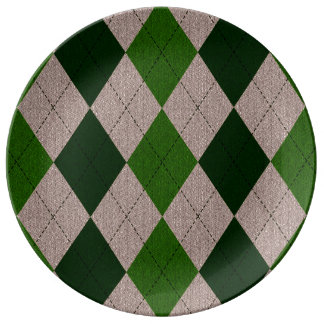 Modelo verde y gris de Argyle