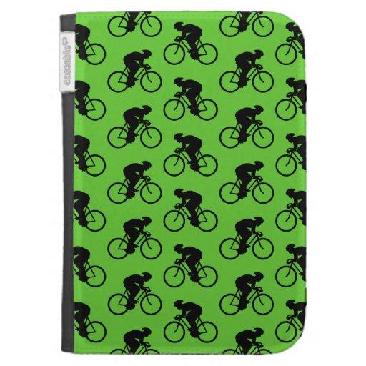 Modelo verde y negro de la bicicleta