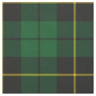 Modelo verde y negro de la tela escocesa telas