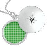 Modelo verde y verde claro de la guinga colgante personalizado