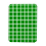 Modelo verde y verde claro de la guinga iman