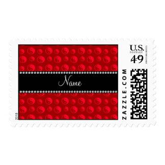 Modelo ying rojo conocido personalizado de yang sellos