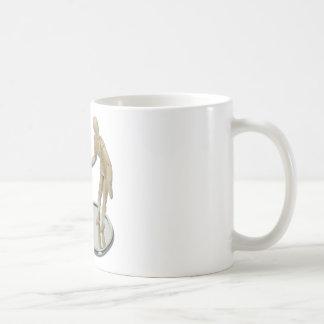 ModelObservingInCompactMirror060411 Coffee Mug