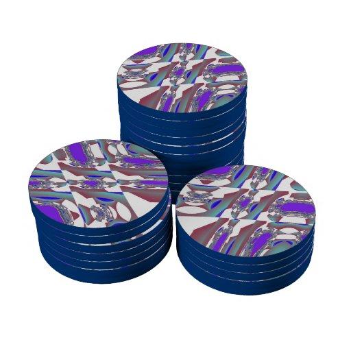 modelos 93 frecuencia intermedia fichas de póquer