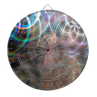 Modelos abstractos de la luz del arco iris tabla dardos