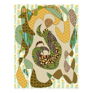 Modelos abstractos del animal del ejemplo de la ma postales
