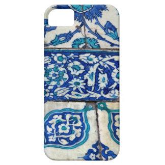 Modelos azules y blancos del iznik clásico del iPhone 5 Case-Mate funda