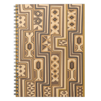 Modelos de África: Arte africano abstracto de Brow Libretas