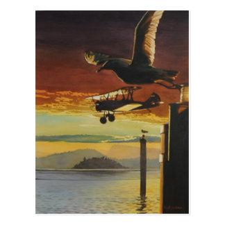 Modelos de aterrizaje por los aws de Paul Jackson, Tarjetas Postales
